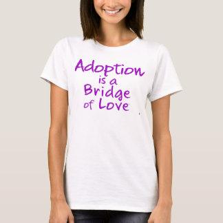 Adoption ist eine Brücke von T-Stück das 2-Sided T-Shirt