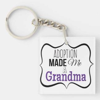 Adoption machte mich eine Großmutter Schlüsselanhänger