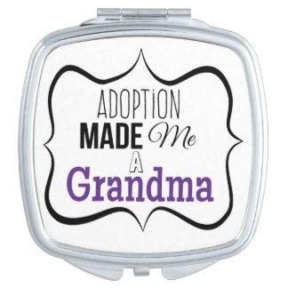 Adoption machte mich eine Großmutter Taschenspiegel
