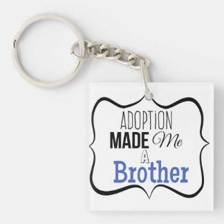 Adoption machte mich einen Bruder Schlüsselanhänger