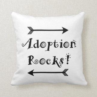 Adoptions-Felsen! Kissen