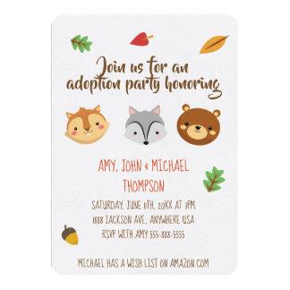 Adoptions-Party Announcment - Einladungen