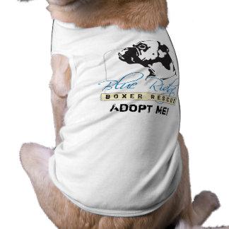 Adoptions-Shirt für blaue Ridge-Boxer-Rettung Shirt