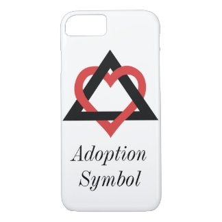 Adoptions-Symbol-Fall iPhone 8/7 Hülle