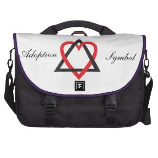 Adoptions-Symbol-Tasche Laptoptasche