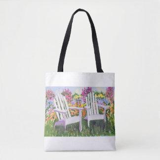 Adorandack sitzt Taschen-Tasche vor Tasche