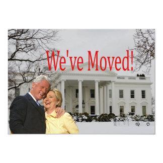 Adressen-Weihnachtskarte Hillary u. Bills neue 12,7 X 17,8 Cm Einladungskarte