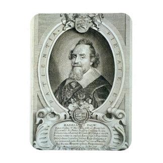 Adriaen Pauw (1585-1653) von 'Porträt-DES Homme Eckiger Magnet