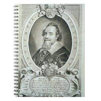 Adriaen Pauw 1585-1653 von Porträt-DES Homme Notizbuch