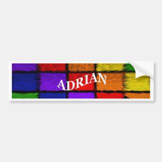 ADRIAN (männliche Namen) Autoaufkleber