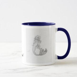 Adriana the mermaid tasse