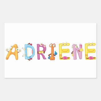 Adriene Aufkleber