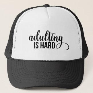 Adulting ist hart truckerkappe