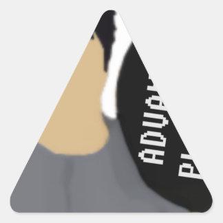 Advanceed Platzierung Dreieckiger Aufkleber
