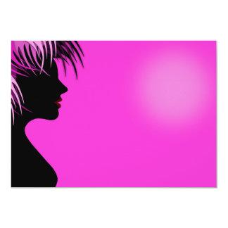 advertisi Friseur des Friseursalons 12,7 X 17,8 Cm Einladungskarte