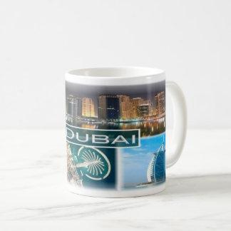 AE Arabische Emirate - Dubai - Jachthafentürme Kaffeetasse