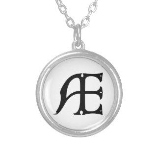 AE-Monogramm - Initialen AE in den gotischen Selbst Gestalteter Schmuck