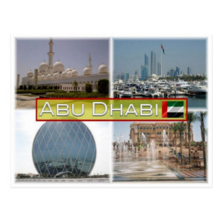 AE-Vereinigte Arabische Emirate - Abu Dhabi - Postkarte
