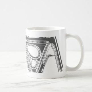 AeaeA Chrom Kaffeetasse