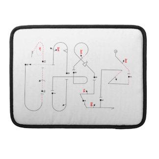 Aerobatic Pilot Sleeve Für MacBook Pro
