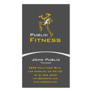 Fitness Visitenkarten