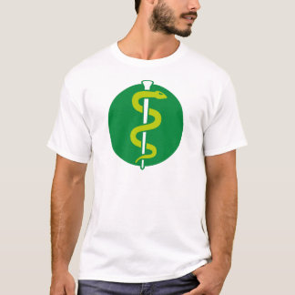 aesculap snake medician doctor medical personal T-Shirt
