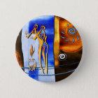af018 Afrika retro Vintage Artgeschenke Runder Button 5,1 Cm