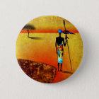 af039 Afrika retro Vintage Artgeschenke Runder Button 5,1 Cm