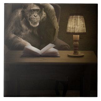 Affe-Affen-Schimpanse Keramikfliese
