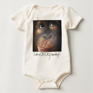 Affe BabyGrow Baby Strampelanzug