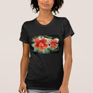 Affe-Blumen-T - Shirt