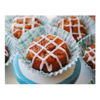 Affe-Brot-kleine Kuchen Postkarte