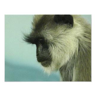 Affe Personalisierte Einladungskarte