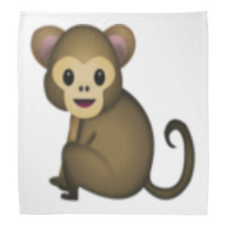 Affe - Emoji Kopftuch