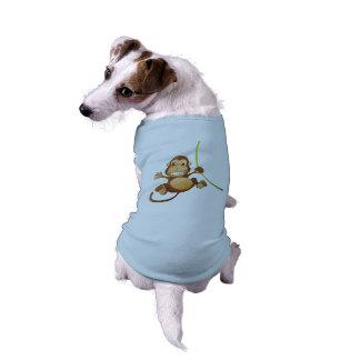 Affe entwarf Hündchen-T - Shirt