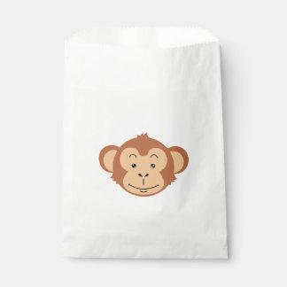 Affe-Gesicht Geschenktütchen