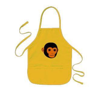 Affe-Gesicht Kinderschürze