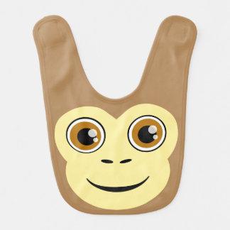Affe-Gesicht Lätzchen
