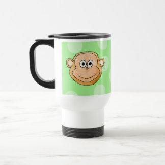 Affe-Gesicht Reisebecher