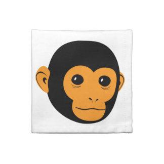 Affe-Gesicht Stoffserviette