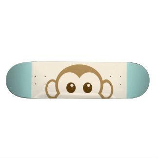 Affe-Gesichts-vektorkunst Personalisierte Skateboarddecks