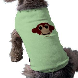 Affe-Hundeshirt Shirt
