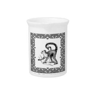Affe in einem Kasten Getränke Pitcher