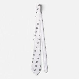 Affe in einem Kasten Krawatte