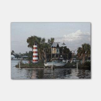 Affe-Insel Post-it Klebezettel