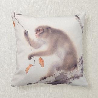 Affe-japanische Malerei-chinesisches Kissen