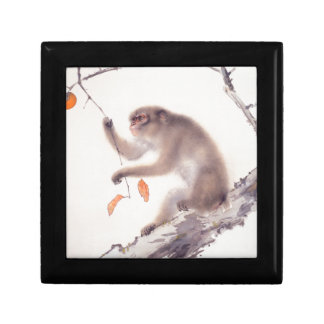Affe-japanische Malerei - Jahr des Affen Kleine Quadratische Schatulle