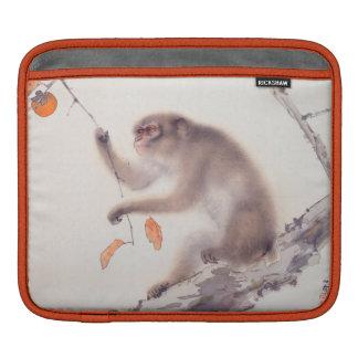 Affe-japanische Malerei - Jahr des Affen Sleeve Für iPads