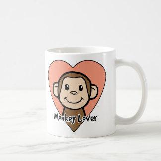 Affe-Liebhaber Kaffeetasse
