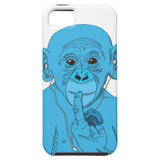Affe-Musik Hülle Fürs iPhone 5